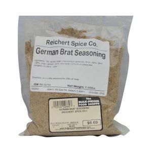 German Brat Seasoning .86 lb.-0