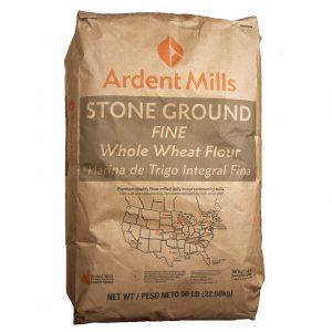 Fine Whole Wheat Flour Stone Ground -0