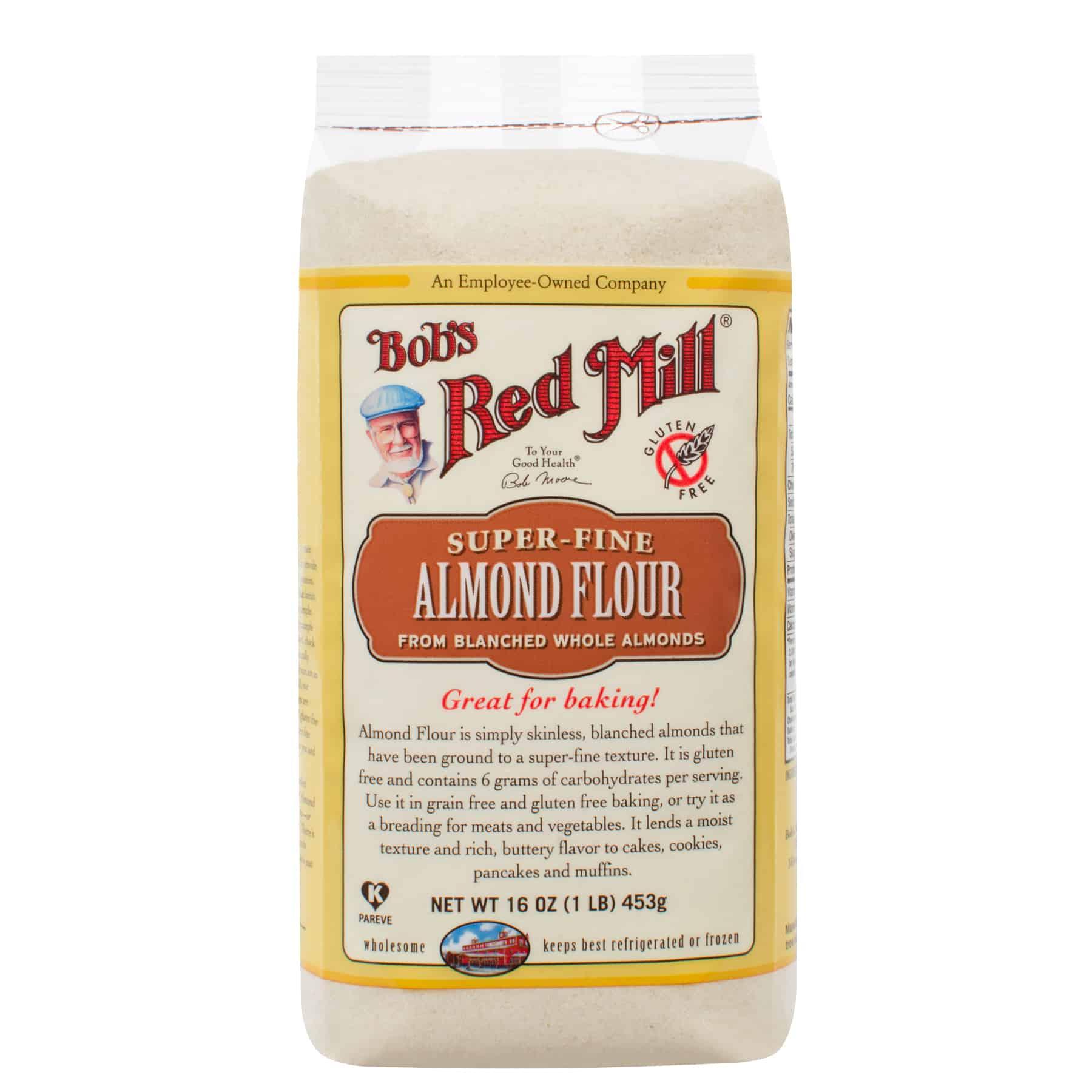 Bob's Red Mill Gluten Free Almond Flour 16 oz.   Bulk ...