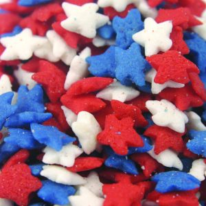 Quins Patriotic Star Mini Shapes (3 oz.)-0