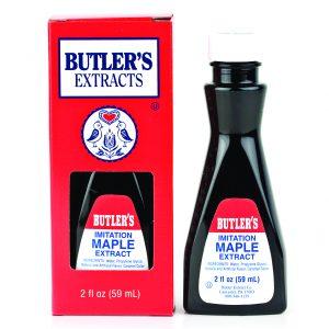 Butler Imitation Maple Extract 2 oz. -0