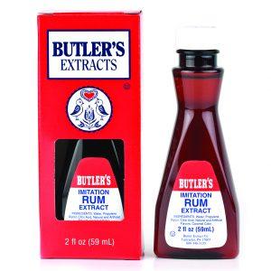 Butler Imitation Rum Extract 2 oz. -0