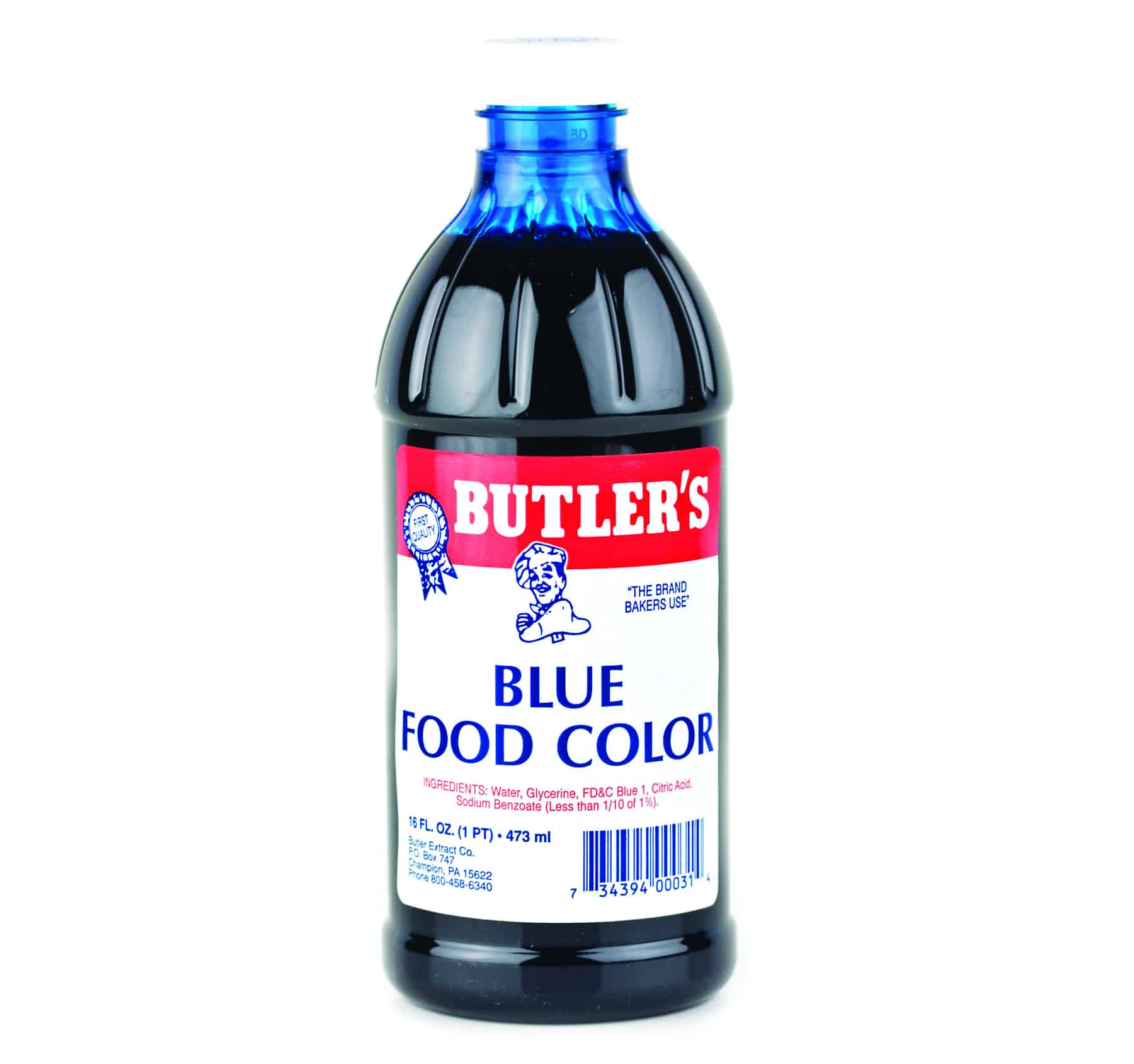 Blue Food Coloring - 16 oz. - Bulk Priced Food Shoppe