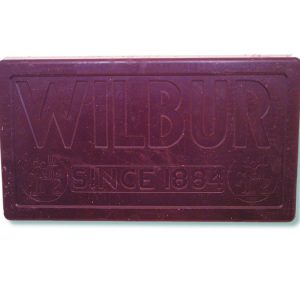 Wilbur Bronze Metal Semi- Sweet Chocolate Coating -0
