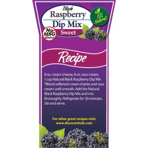 Natural Black Raspberry Dip Mix-0