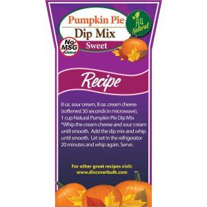 Natural Pumpkin Pie Dip Mix-0