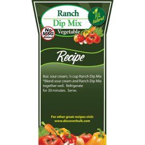 Dip Mix - Ranch (no MSG)-0