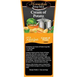 Cream of Potato Soup (Homestyle)-0