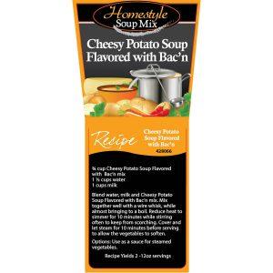 Cheesy Bacon Potato Soup-0