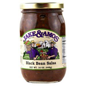 Jake & Amos Black Bean Salsa - 16 oz. -0