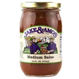 Jake & Amos Medium Salsa - 16 oz. -0