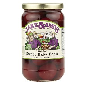 Jake & Amos Pickled Sweet Baby Beets - 16 oz. -0