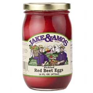 Jake & Amos Pickled Red Beet Eggs - 16 oz. -0