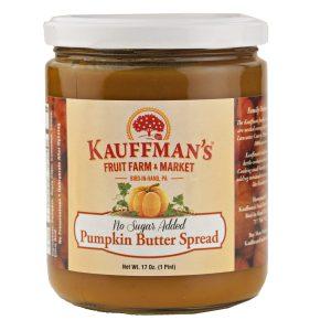 Sugar Free Pumpkin Butter 17 oz. -0