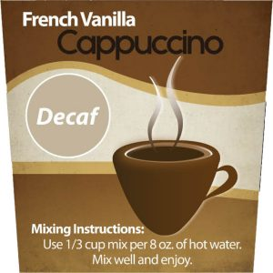 Decaf French Vanilla Cappuccino Mix -0