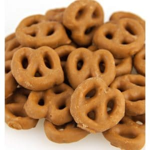 Micro Salted Caramel Coated Pretzels -0