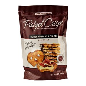 Honey Mustard & Onion Pretzel Crisps -0