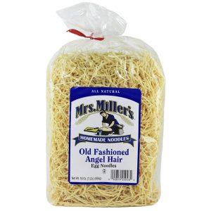 Mrs. Miller's Old Fashioned Angel Hair Noodles 16 oz. -0