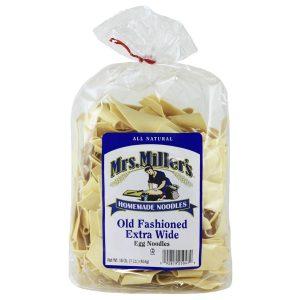 Mrs. Miller's Old Fashioned Extra Wide Noodles 16 oz. -0
