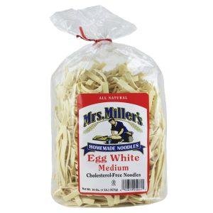 Mrs. Miller's Old Fashioned Noodles- No Yolk 16 oz. -0