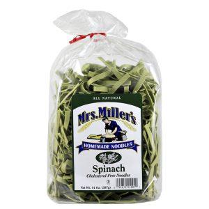Mrs. Miller's Old Fashioned Noodles- Spinach 14 oz. -0