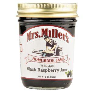 Mrs. Miller's Seedless Black Raspberry Jam - 8 oz.-0