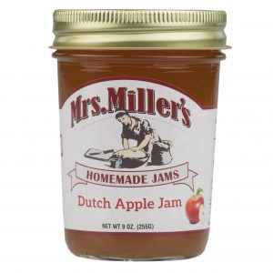 Mrs. Miller's Dutch Apple Jam - 8 oz. -0