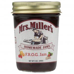 Mrs. Miller's F.R.O.G. Jam - 8 oz. -0