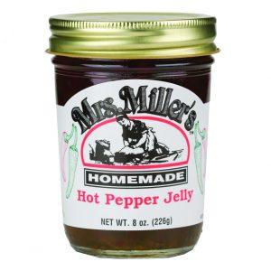Mrs. Miller's Hot Pepper Jelly - 8 oz. -0