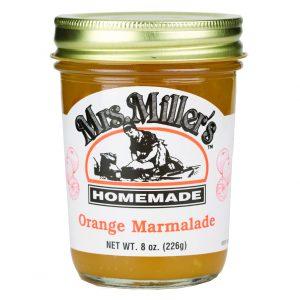 Mrs. Miller's Orange Marmalade - 8 oz.-0