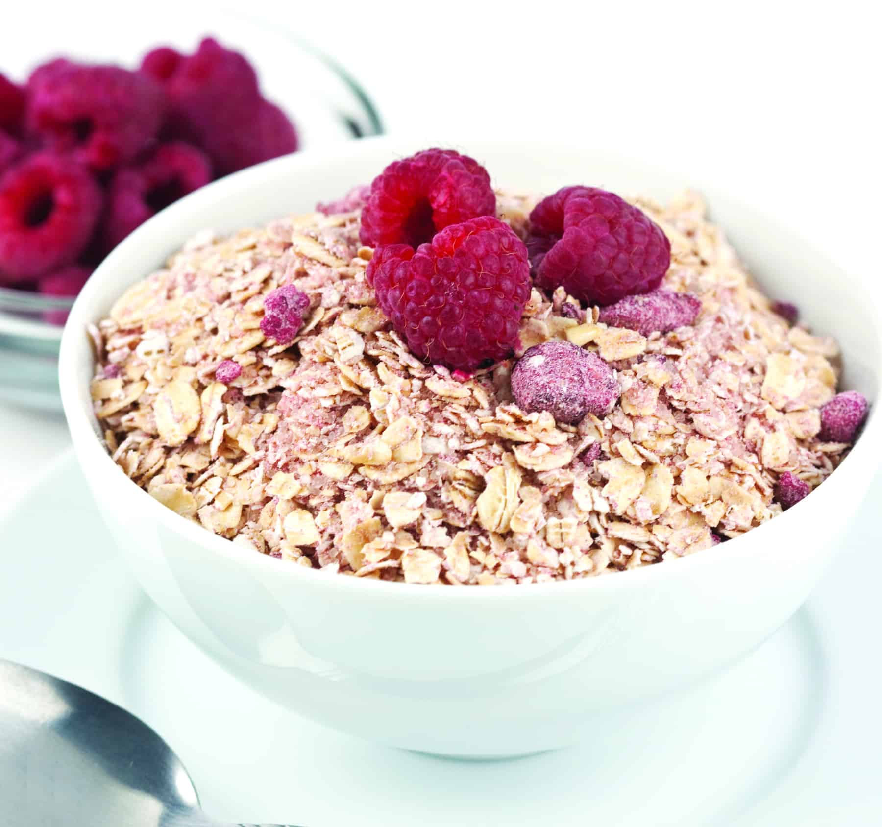 Natural Red Raspberry Instant Oatmeal