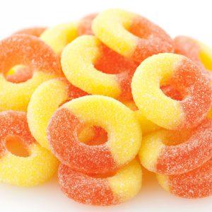 Gummi Peach Rings -0
