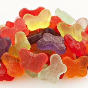 Mini Gummi Butterflies-0