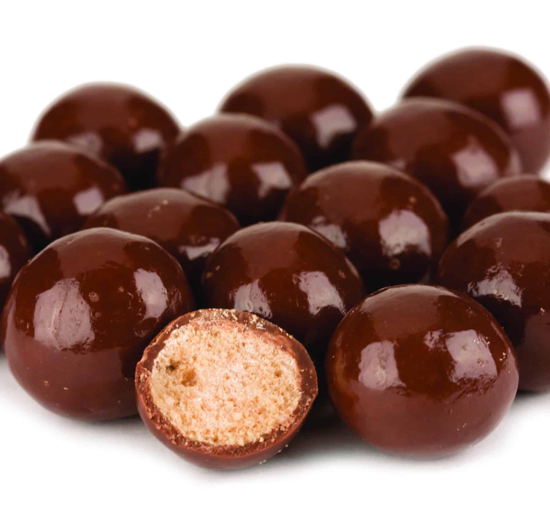 Reduced Sugar Milk Chocolate Malt Balls