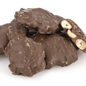 Milk Chocolate Caramel Peanut Clusters-0