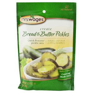 Mrs. Wages Bread & Butter Pickle Mix - 5.3 oz. -0