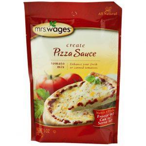 Mrs. Wages Pizza Sauce Mix - 5 oz. -0