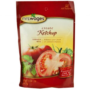 Mrs. Wages Ketchup Mix - 5 oz. -0